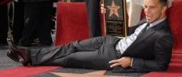 Ricky Martin recibió su estrella!