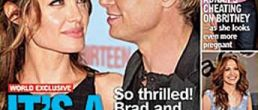Brad Pitt y Angelina Jolie tendrán gemelos