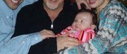 Foto familiar de Thalia y su hija
