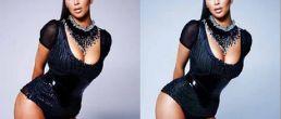 Kim Kardashian retocada para Complex