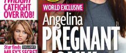Angelina embarazada de nuevo? Camino al séptimo hijo? Sí, claro!