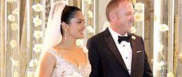 Foto de boda de Salma Hayek