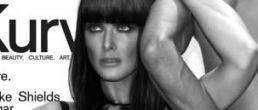 Brooke Shields hot en la portda de Kurv