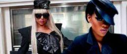 Lady GaGa y Rihanna cantando juntas Silly Boy