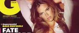 Sexy Bar Refaeli en fotos para GQ