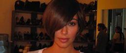 Fotos de Kim Kardashian con pelo corto
