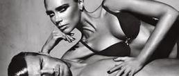 Nueva fotos de David y Victoria Beckham en ropa interior