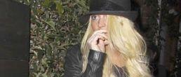 En fotos: Lindsay Lohan volvió al rubio