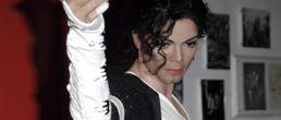 La figura de Michael Jackson en cera