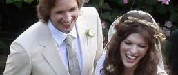 Fotos de la boda de Milla Jovovich