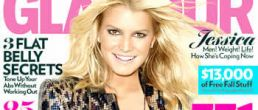 Jessica Simpson revista Glamour – Septiembre 2009