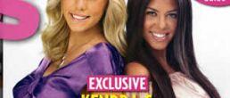 Kourtney Kardashian y Kendra Wilkinson juntas en la portada de US