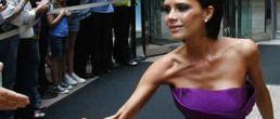 Ultra delgada Victoria Beckham probó ser juez de American Idol