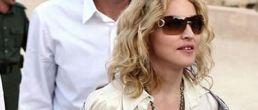 Madonna visitó las ruinas de Jordania