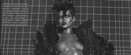 Rihanna topless para la revista Vogue
