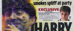 Foto de Daniel Radcliffe fumando marihuana? ¡Él lo niega!