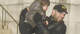 Twit Pic: Ricky Martin y su hijo en Washington