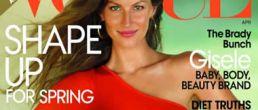 Gisele Bundchen en la portada de Vogue