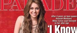 Confesiones de Miley Cyrus para la revista Parade