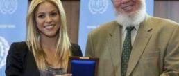 Shakira fue honrada por las Naciones Unidas