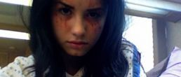 """Demi Lovato en el Set de """"Grey's Anatomy"""""""