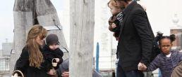 Fotos de los Jolie Pitt celebrando pascua