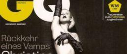 Christina Aguilera desnuda para GQ