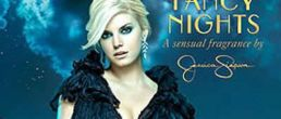 Promo para el perfume Fancy Nights de Jessica Simpson