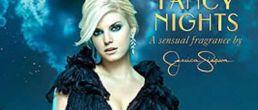 Promo para el perfume Fancy Nights de Jessica Simpson