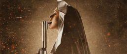 Lindsay Lohan en el poster de Machete