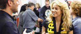 Shakira en el cierre de la Copa Mundial 2010