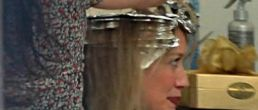 Hilary Duff pillada en pleno cambio de look