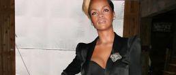 La figura de Rihanna en cera