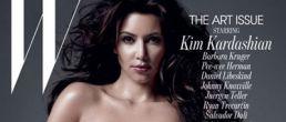 Kim Kardashian desnuda en la Revista W