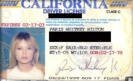 licencia Paris Hilton