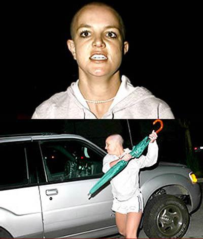 Britney Spears violenta