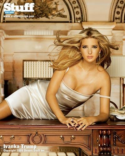 Ivanka Trump posa en revista