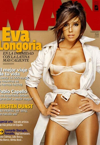 Eva Longoria en Man