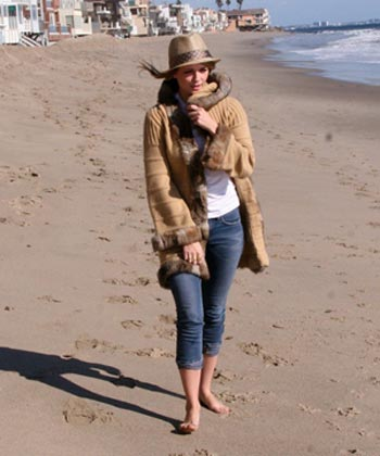 Mischa Barton playa