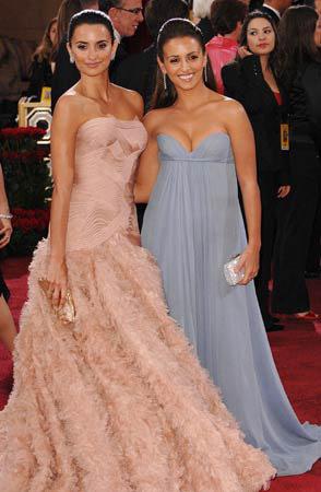 Penelope Cruz y hermana en Oscar