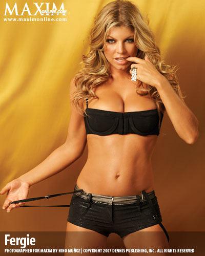 Fergie para Maxim