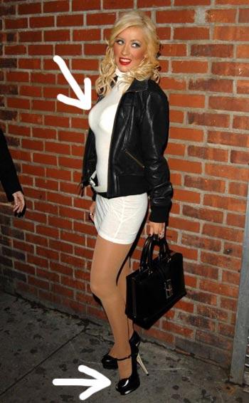 Christina Aguilera se prostituye en las calles