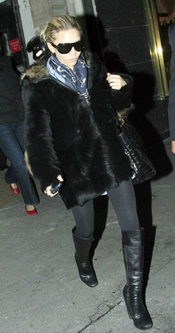 Ashley Olsen en Paris