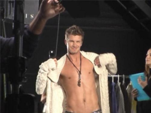 David Beckham Motorola