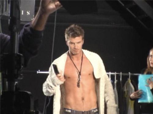 David Beckham comercial Motorola