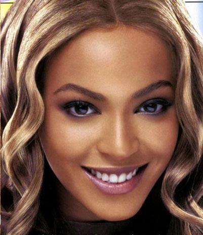 Beyonce se operó la nariz - despues