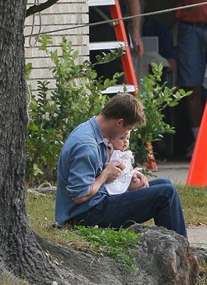 Brad Pitt y su hija