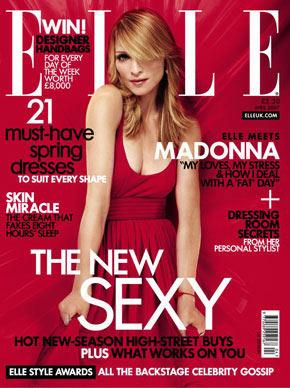 Madonna en sexy portada