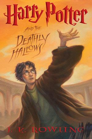 Portada último libro de Harry Potter