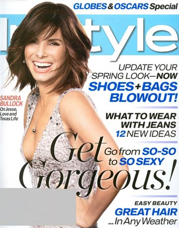 Sandra Bullock en revista